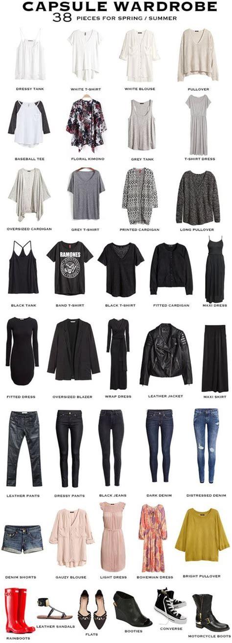 Concevoir Une Garderobe Minimaliste ? Garderobe