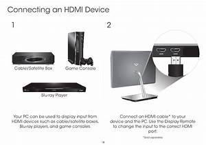 Connecting An Hdmi Device