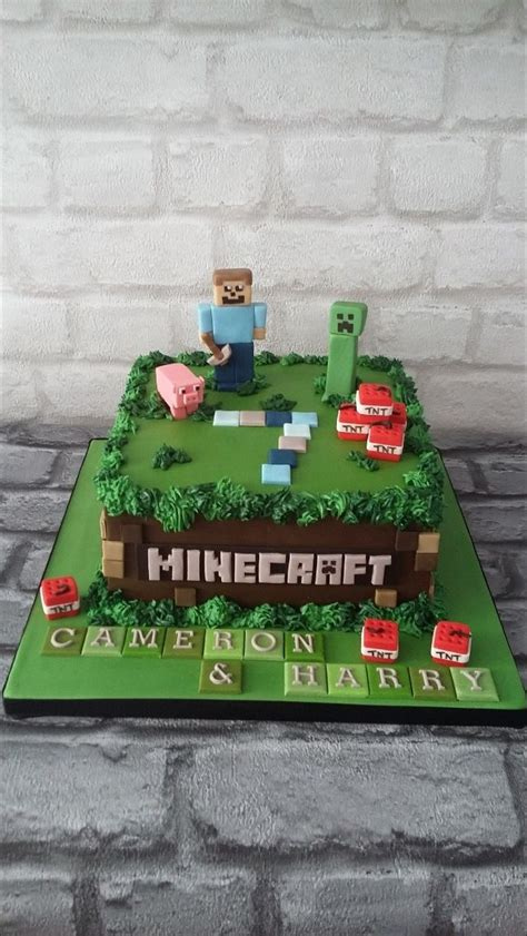 25+ Best Ideas About Mine Craft Cake On Pinterest Easy