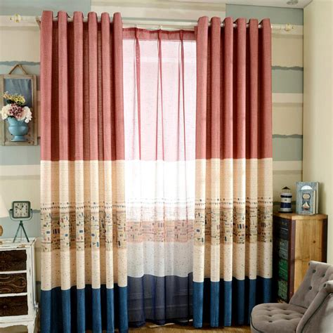 best striped curtain panels for linen cotton fabric