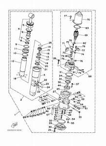 Huile Trim Yamaha 50cv 4temps De 1997