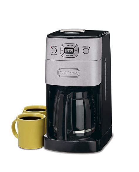 Maintaining this coffee maker is a breeze thanks to its minimalistic and compact design. Best Grind And Brew Coffee Makers With Images For Home