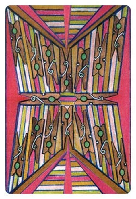 clothespin tarot