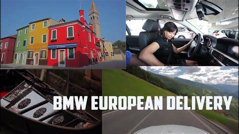 bmw european delivery trip welt pickup  drive
