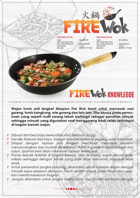 Wajan Hitam Maspion wajan maspion wok logam jawa maspion