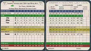 Understanding Your Golf Score Card - YouTube