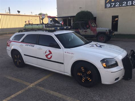 What Is The Ghostbusters Car by Ghostbusters Car Is Being Sold On Ebay Dallas Observer