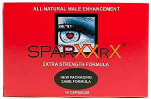Sparxx Rx  Combo Package  18 Capsules