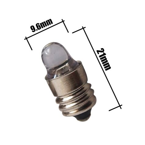 50x 3v 2 d c e10 energy saving led flashlight torch