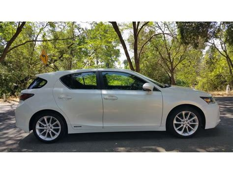 2012 Lexus Ct200h For Sale by Lexus Ct 200h For Sale In Modesto Ca Carsforsale
