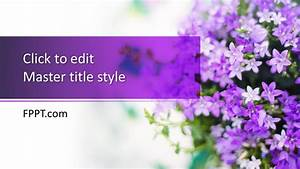 Free Lilac Powerpoint Template