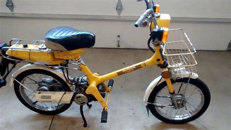 Honda Moped by 1980 Honda Express Nc50 Moped Parts Bike