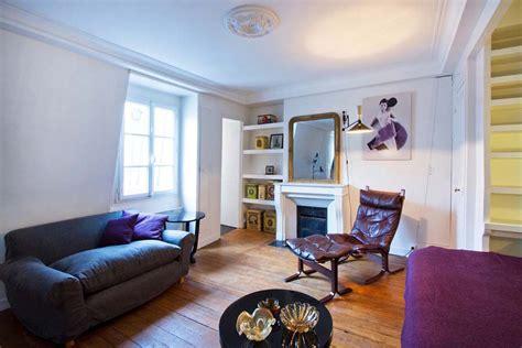 paris studio apartment merges classic contemporary