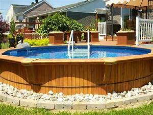 Piscine Bois Ronde : la petite piscine hors sol en 88 photos ~ Farleysfitness.com Idées de Décoration