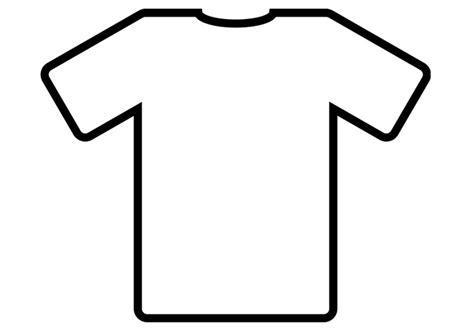 Kleurplaat Shirt by Kleurplaat T Shirt Afb 19012 Images