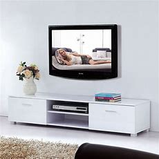 New Modern High Gloss Tv Unit Cabinet Stand Media Video