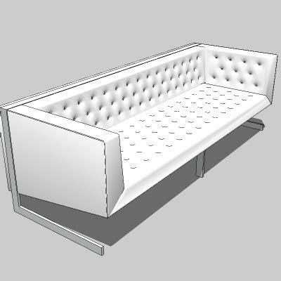 tufted settee skyler sofa 3d model formfonts 3d models textures