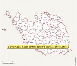Code Postal Les Clayes Sous Bois : carte des codes postaux de la vend e ~ Dailycaller-alerts.com Idées de Décoration