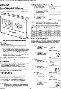 Honeywell T8024d Users Manual 68 0195
