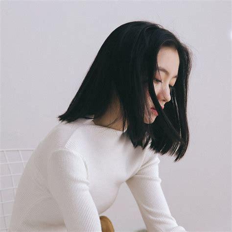 short medium hair girl ulzzang girl short hair styles