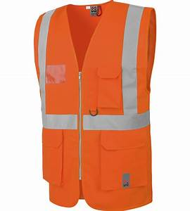 Gilet De Travail : gilet de travail haute visibilit fonctionnel orange ~ Nature-et-papiers.com Idées de Décoration