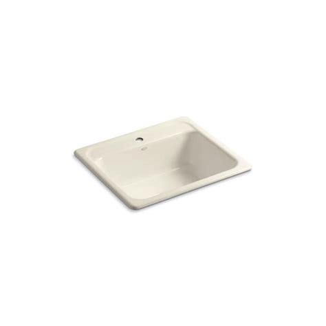 single bowl cast iron kitchen sink kohler mayfield drop in cast iron 25 in 1 single 9301