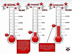 fundraising goal chart template lime lightinfo With fundraising charts templates