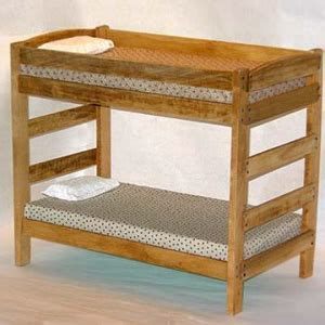 bunk bed plans simple  woodworking