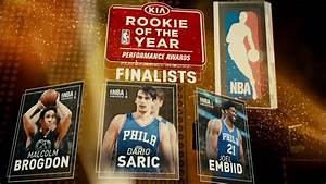 2017 NBA Awards: Rookie of the Year Finalists - YouTube