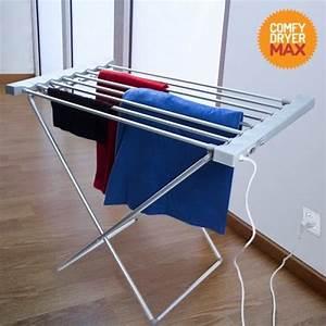 Sechoir A Linge Chauffant : tendoir linge lectrique comfy dryer max 8 bar achat ~ Dailycaller-alerts.com Idées de Décoration
