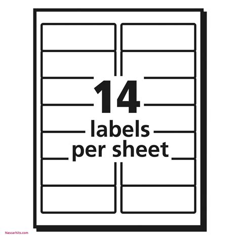 Avery Label Template Avery Printable Tabs Template File Cabinet Label Template