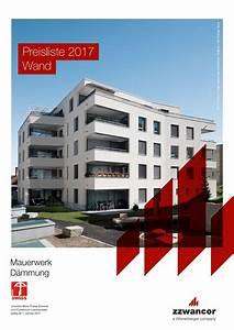 Viebrockhaus Preisliste 2017 Pdf : preisliste wand 2017 mauerwerk d mmung pdf by wienerberger ag issuu ~ Frokenaadalensverden.com Haus und Dekorationen