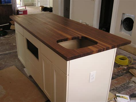 kitchen island counters black walnut kitchen counter top