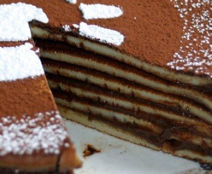 cuisine ustensiles gâteau de crêpes au chocolat recette de gâteau de crêpes au chocolat marmiton
