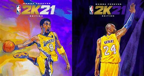 NBA 2K21 Kobe Bryant Mamba Forever Edition | TheGamer ...