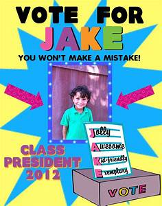 Make a Class President Election Poster | School Election ...