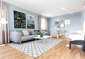 pastel blue scandinavian interior jelanie With attractive couleur peinture mur 1 10 idees originales pour peindre son interieur blog deco