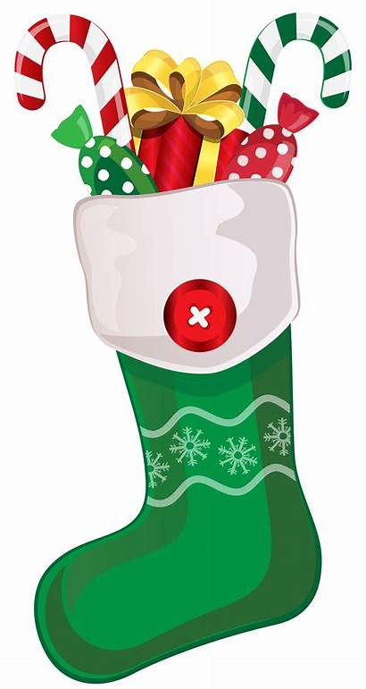 Stocking Clipart Candy Canes Transparent Yopriceville
