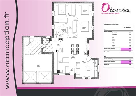 plan maison plain pied 3 chambres avec garage plan maison plain pied en l avec garage