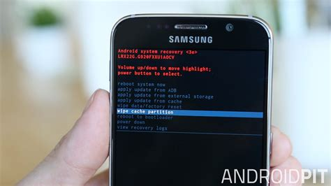 clear system cache android how to clear the cache on a galaxy s6 edge androidpit