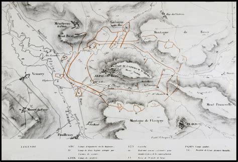 le siege d alesia plan du antique d 39 alésia avec du siège de césar