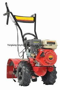 China Hot Sale Worm Gear Worm Manual Cultivator Gasoline