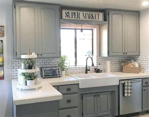 gray stained kitchen cabinets light grey stained kitchen