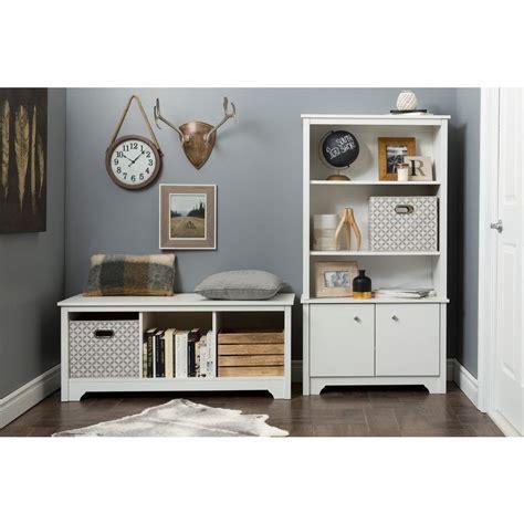 South Shore White Bookcase by South Shore Vito White Storage Open Bookcase 10328