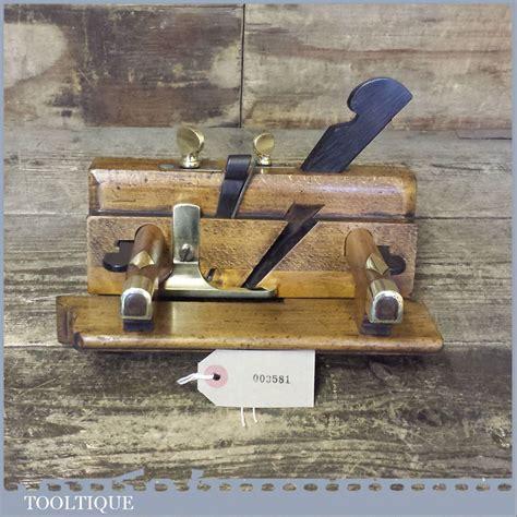 details   rare  fairclough  liverpool sash fillister  depth adjusters