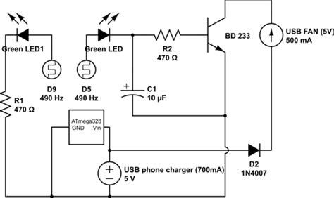 Arduino Learning How Circuit Works Pwm Usb Fan