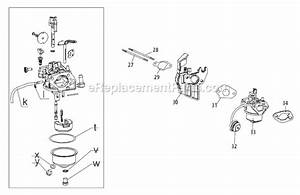 Troy-bilt 31as62n2711 Parts List And Diagram