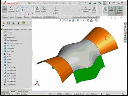 Solidworks Surface Offset Tool Modeling Into Segment