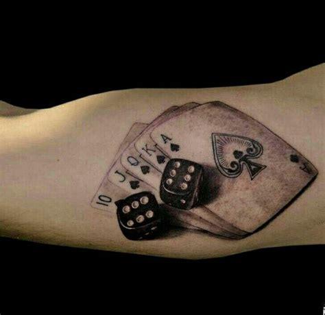 cards  dice tattoos ink dice tattoo tattoos card