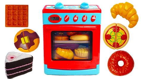 cuisine toys r us oven kitchen playset with cutting cake pizza